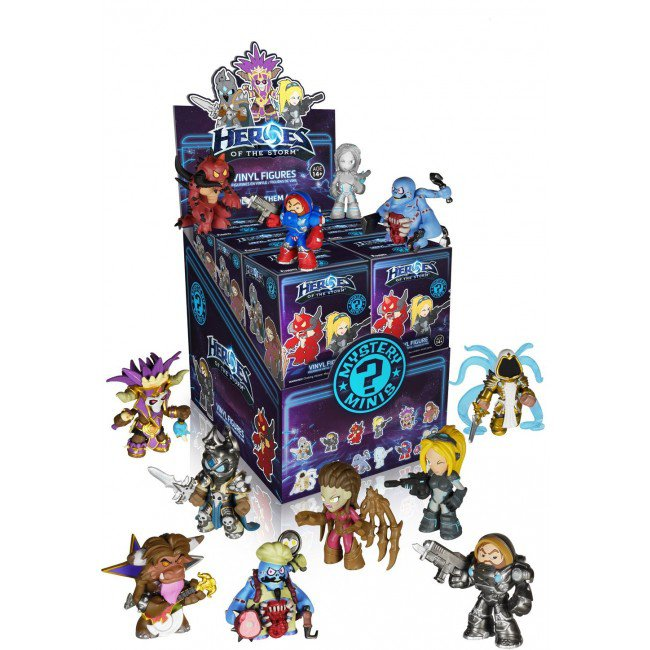 Heroes of the Storm Funko Mystery Minis