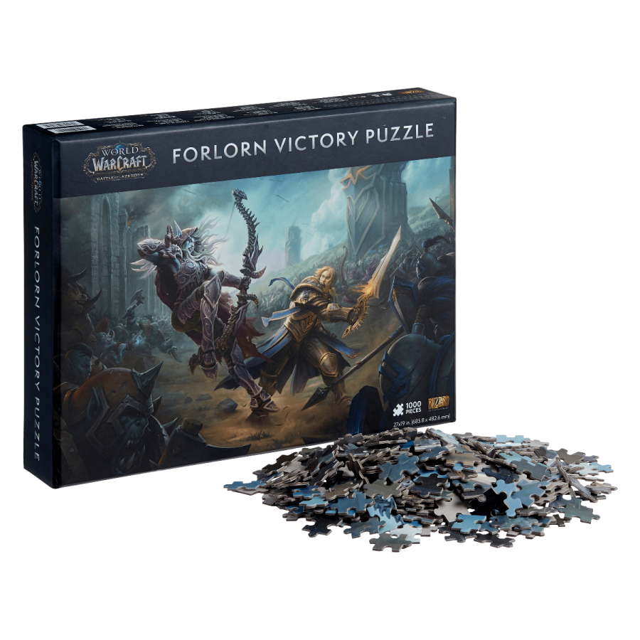 World of Warcraft Forlorn Victory 1000-Piece Puzzle