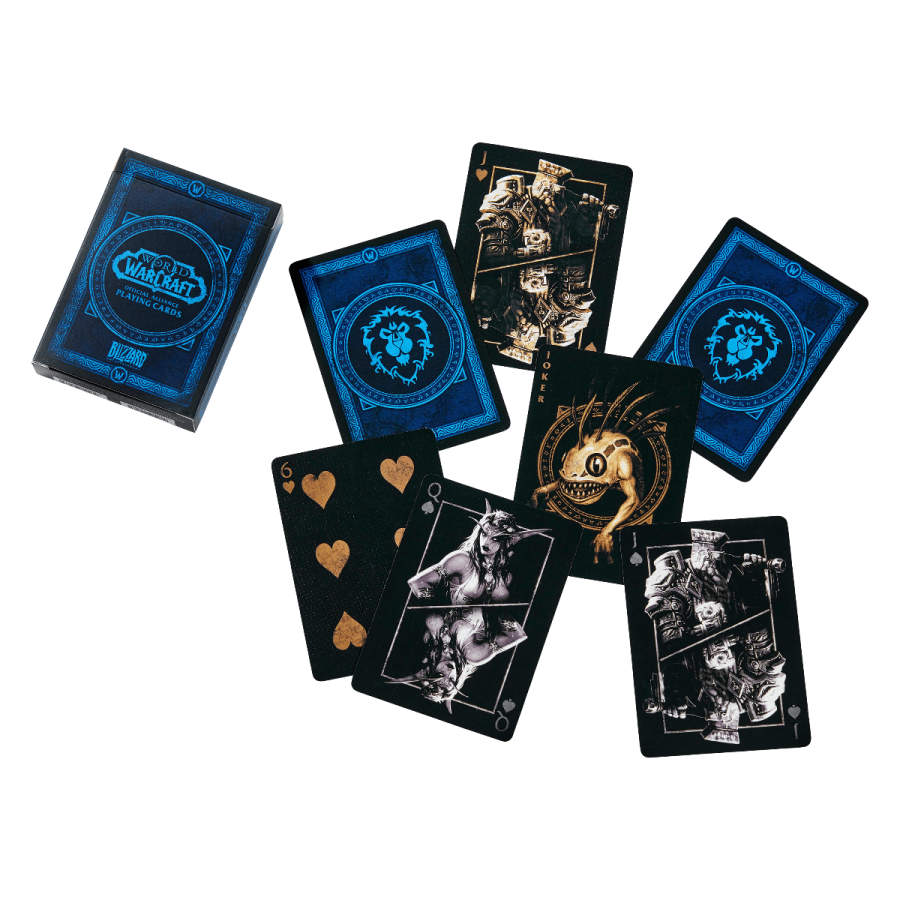 World of Warcraft Alliance Playing Cards