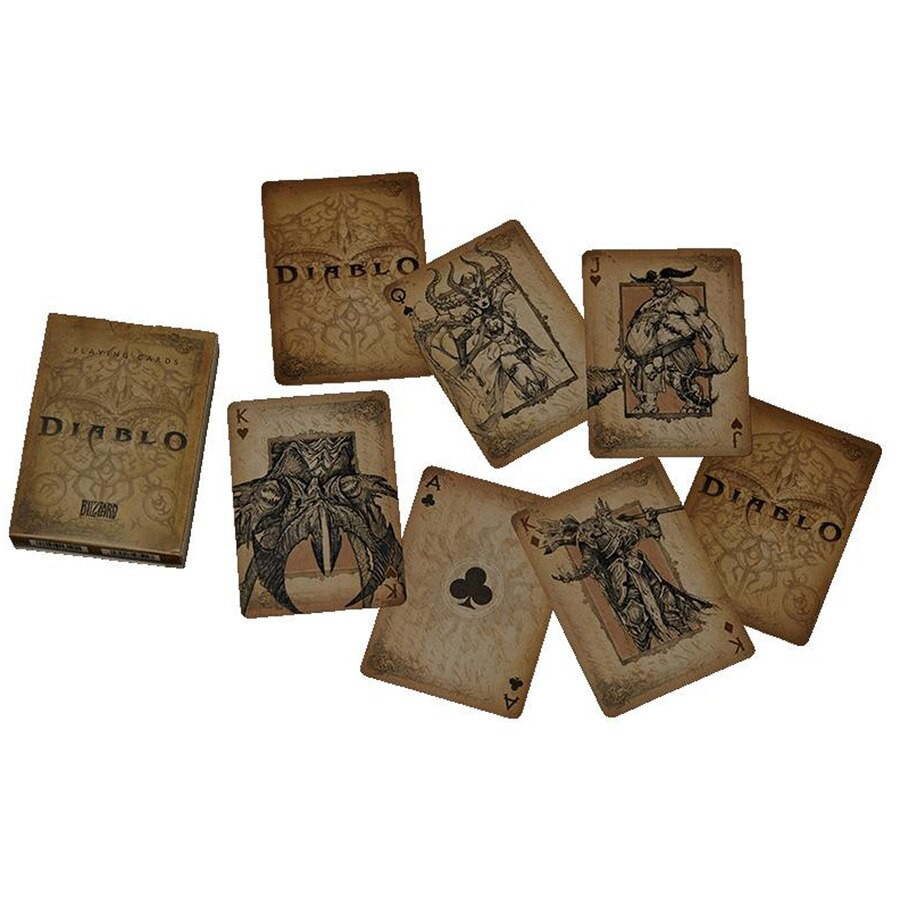 Diablo Gamer Playing Cards