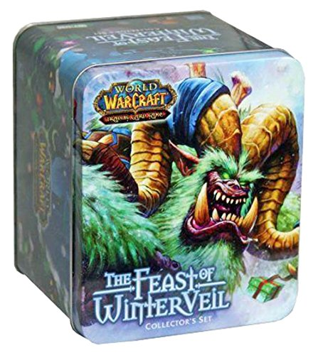 World of Warcraft Feast of Winter Veil Collector's Set Tin